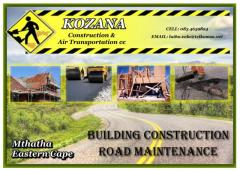 Kozana Construction & Air Transportation cc
