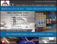 Ace electrical & Plumbing Solution