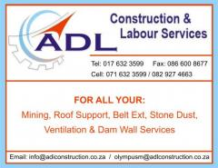 ADL Construction & Labour services cc