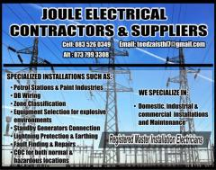 Joule Electrical Contractors and Suppliers