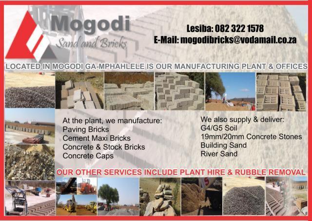 Mogodi Sand & Bricks