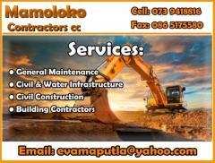 Mamoloko Contractors cc