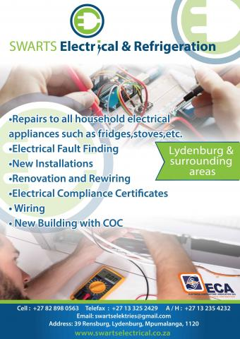 Swarts Electrical and Refridgeration