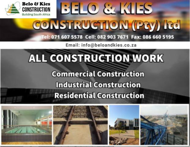 Belo en Kies Construction