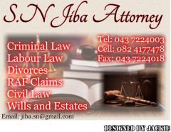 S.N Jiba Attorney