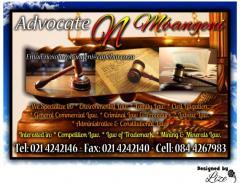 Advocate N Mbangeni