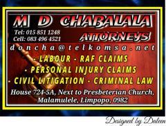 M D CHABALALA ATTORNEYS