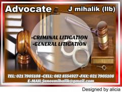 Advocate J mihalik (llb)