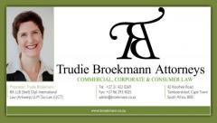 Trudie Broekmann Attorneys