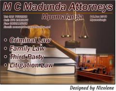 M C Madunda Attorneys