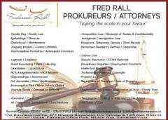 Frederick Rall  Attorneys