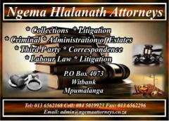 Ngema Hlalanath Attorneys