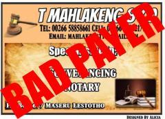 T Mahlakeng & Co