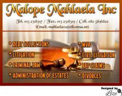 Malope Mahlaela Inc