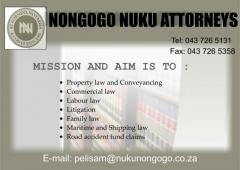 NONGOGO NUKU ATTORNEYS