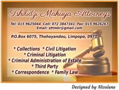 Tshilidzi Makuya Attorneys