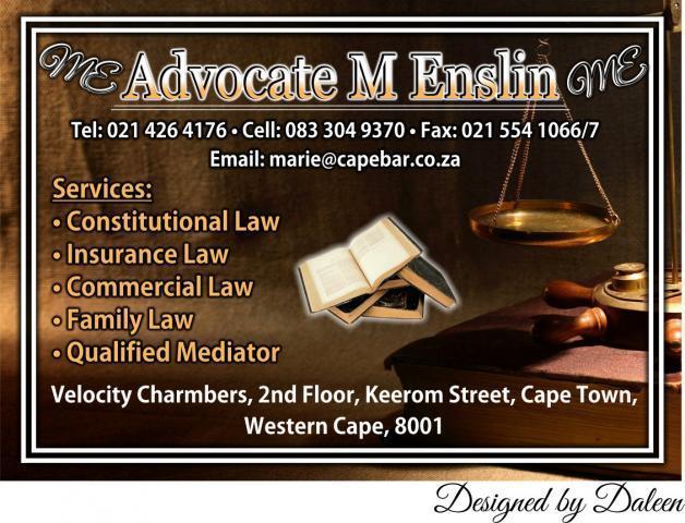 Advocate M Enslin