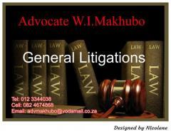 Advocate W.I.Makhubo