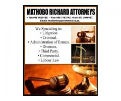 MATHOBO RICHARD ATTORNEYS.