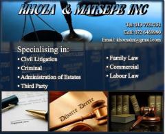 Khoza & Matsepe Inc