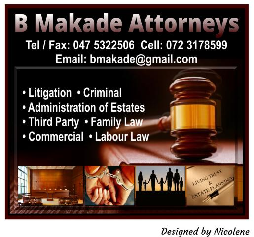 B Makade Attorneys Legal Practitioners Directory