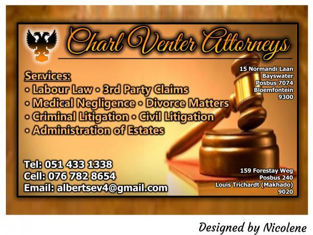 Charl Venter Attorneys