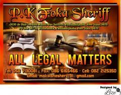P.K Foka Sheriff