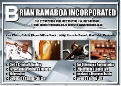 BRIAN RAMABOA INCORPORATED