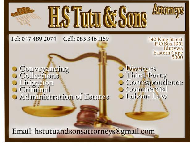 H.S Tutu & Sons Attorneys