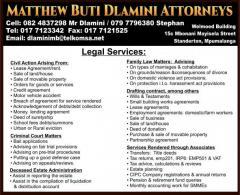 Matthew Buti Dlamini Attorneys