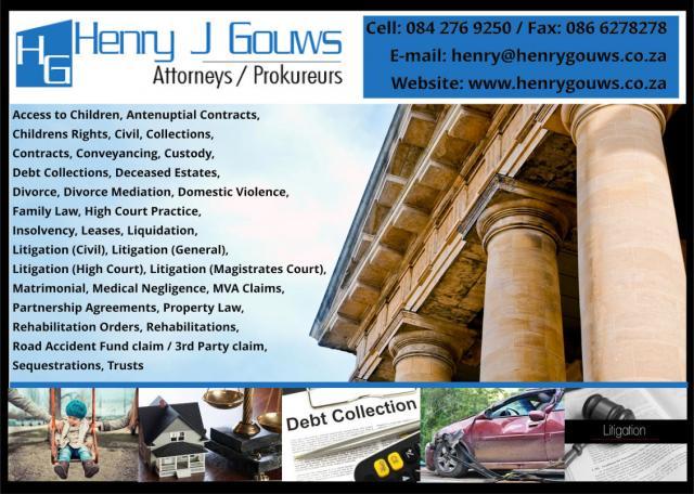 Henry J Gouws Attorneys Hartbeespoort