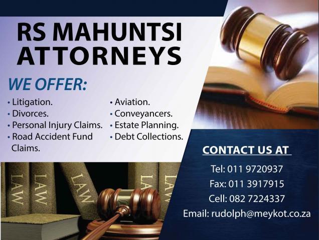 RS Mahuntsi Attorneys
