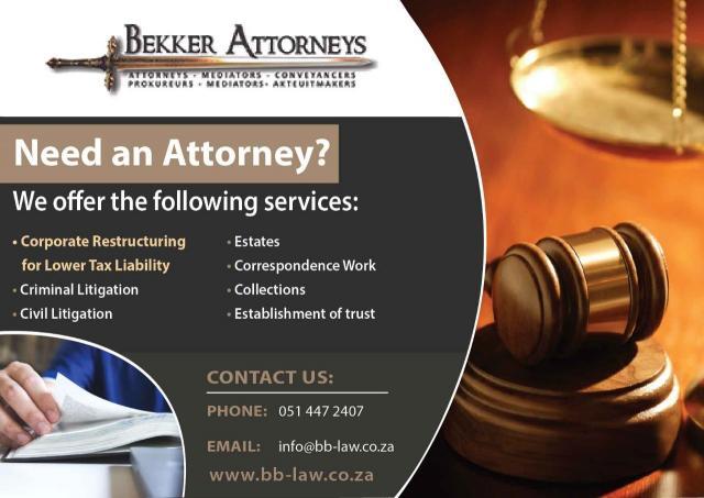 Bekker Attorneys