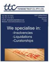 Tshwane Trust Company (Pty) Ltd. Pretoria