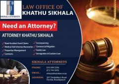 ATTORNEY KHATHU SIKHALA