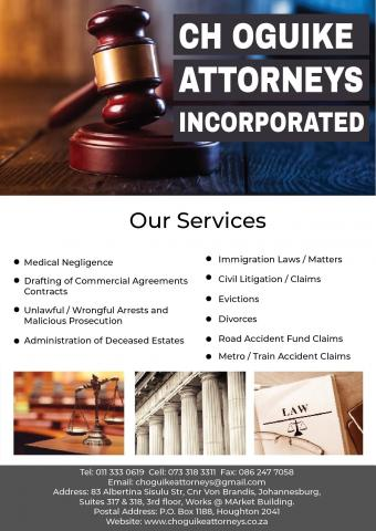 CH Oguike Attorneys Incorporated