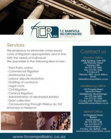 T.C Ramapatla Incorporated Attorneys