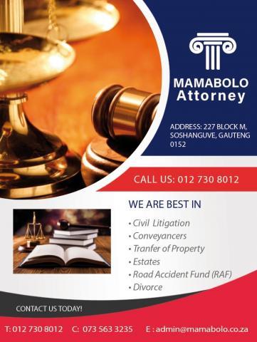 Mamabolo Attorney