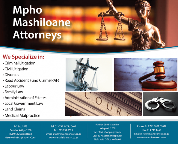 Mpho Mashiloane Attorneys