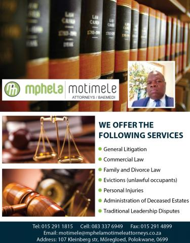 Mphela Motimele Attorneys