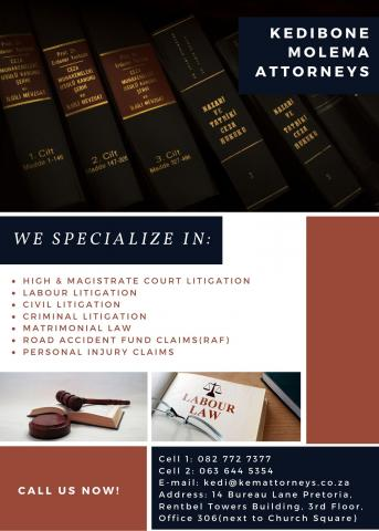 Kedibone Molema Attorneys