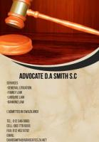 Advocate D.A Smith S.C. Pretoria