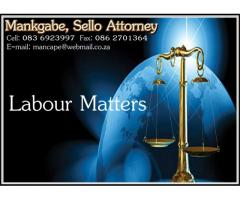 Mankgabe, Sello Attorney