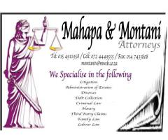 Mahapa and Montani Attorneys